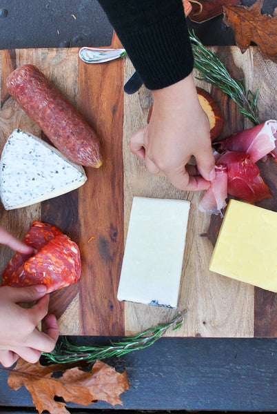 DIY Cheese and Charcuterie Board in Less Than 10 Minutes