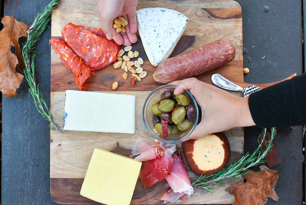 Easy Cheese and Charcuterie Board in Less Than 10 Minutes