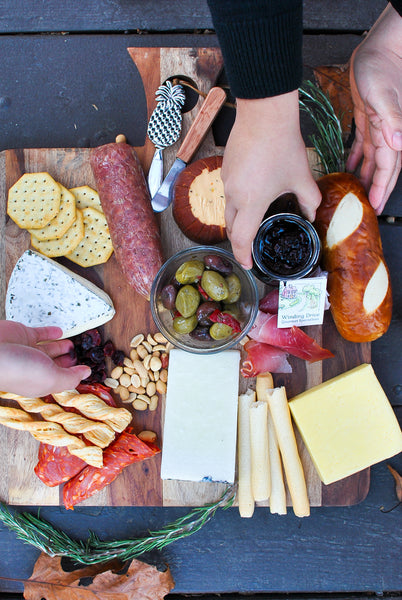 Party Cheese Board DIY