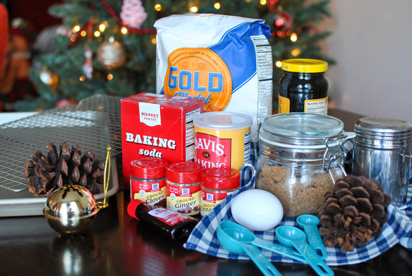 Delicious Gingerbread Cookies Ingredients