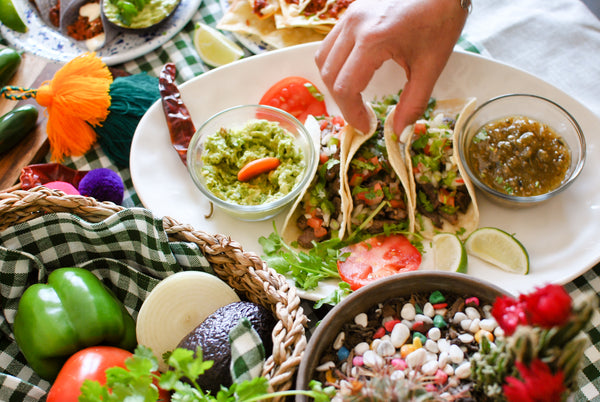 Taco Bar Fiesta for the busy girl