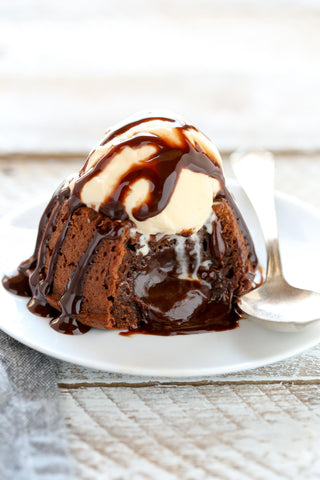 Molten Chocolate Lava Cake for Two
