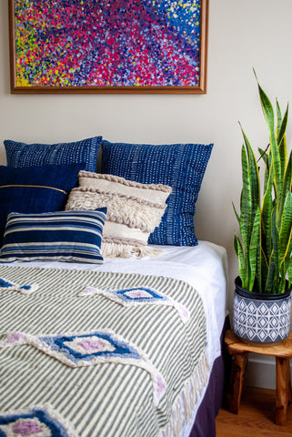 Blue Pillows to Love!