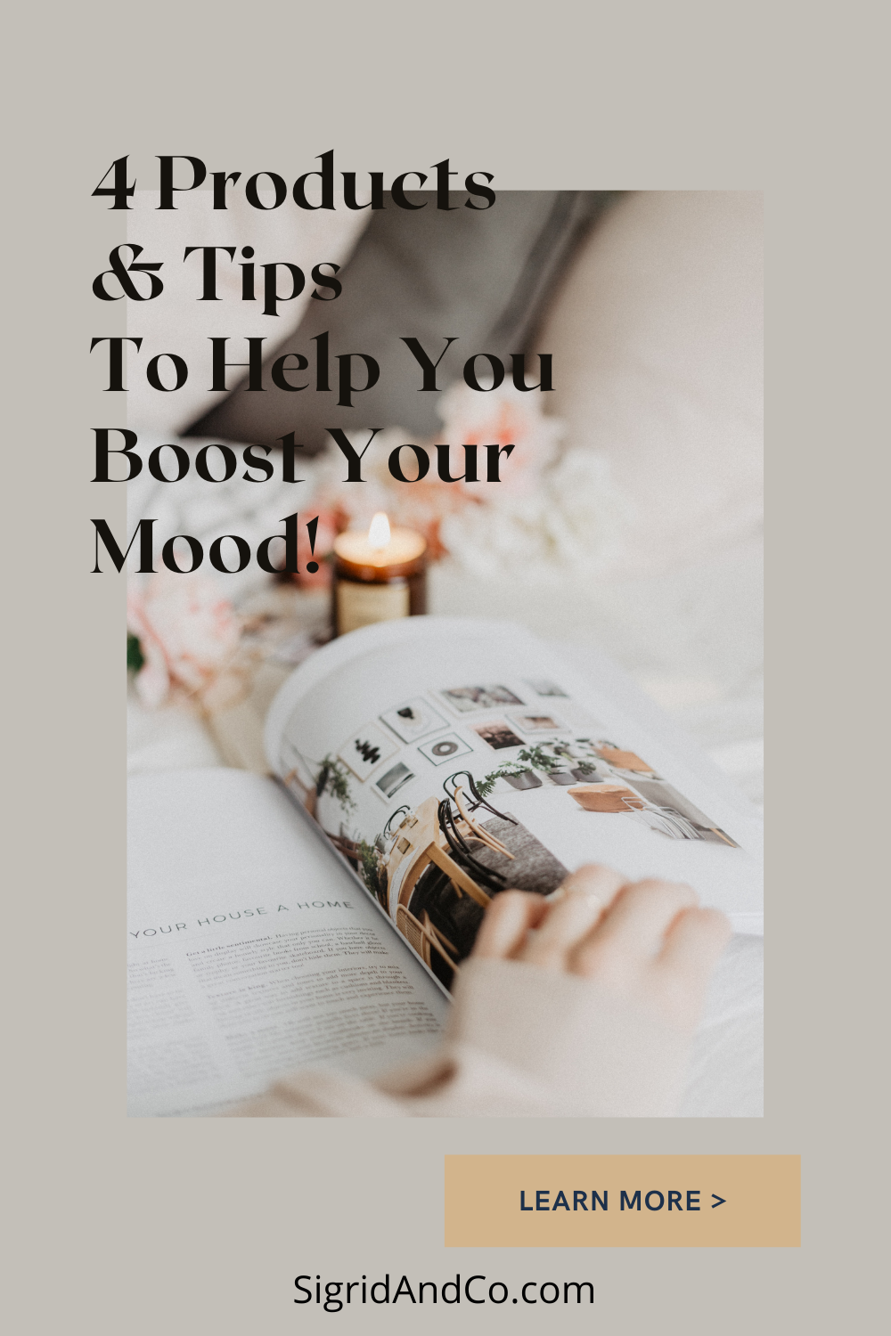 Wellness at Home: 4 Products and Tips to Boost Your Mood