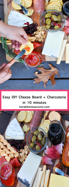 Easy DIY Cheese and Charcuterie Board