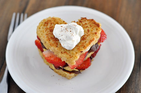 Nutella and Strawberries French Toast