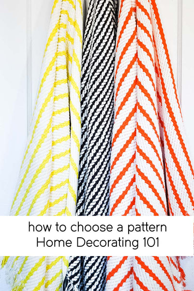 how to choose a pattern