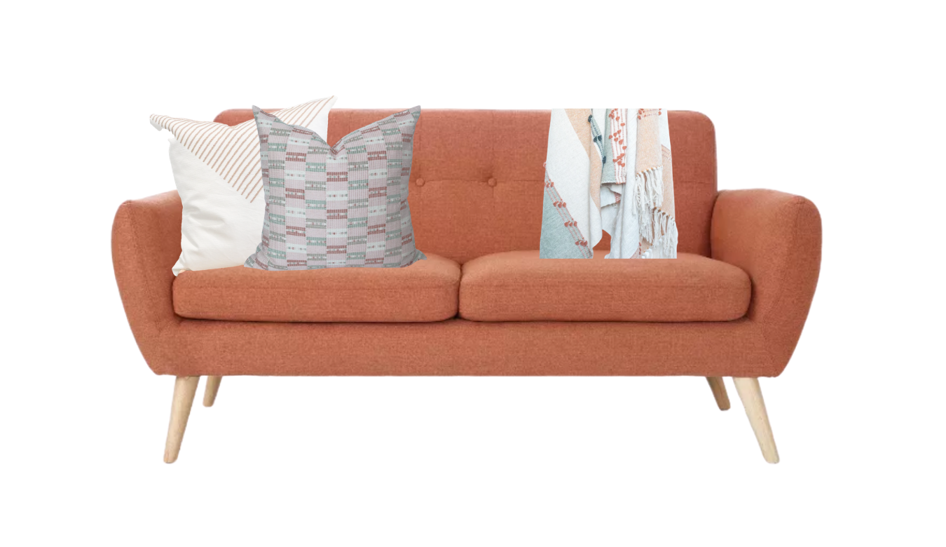 How To Style a Sofa in 3 Easy Ways