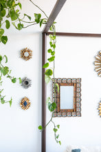 Load image into Gallery viewer, Mini decorative mirror in bronze