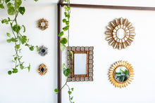 Load image into Gallery viewer, Set of four mini decorative mirrors