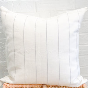 Dhalia Accent Throw Pillow in Light Gray