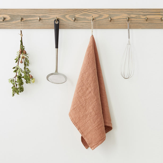Linen Kitchen Towels Set of Two