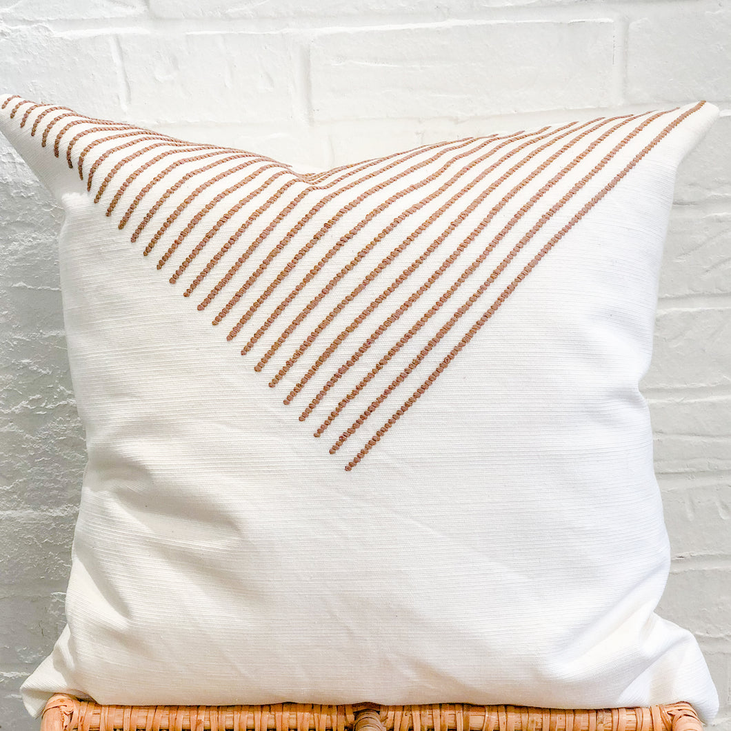 PRE- ORDER Aztec Accent Throw Pillow in Camel
