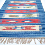 small area lilim rug with nomad motif