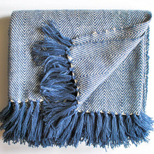 Load image into Gallery viewer, Navy Blue Throw Blanket Meraki Home Accents