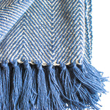 Cozy Throw Blanket with Fringe