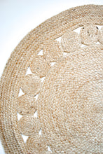 Load image into Gallery viewer, natural braided jute rug neutral