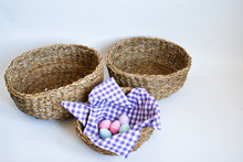 Load image into Gallery viewer, Round Roll Baskets set of Three