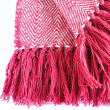 Red Decorative Throw