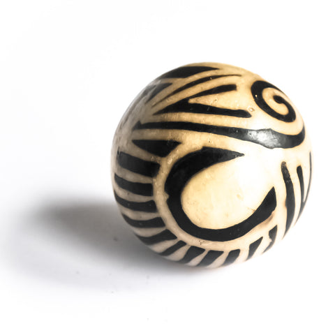 small ceramic accent spheres three different designs and sizes