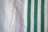 cisco beach turkish towels in green stripes