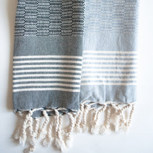 westport turkish hand towels set of two