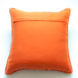orange 20x20 accent pillow alternative down insert included