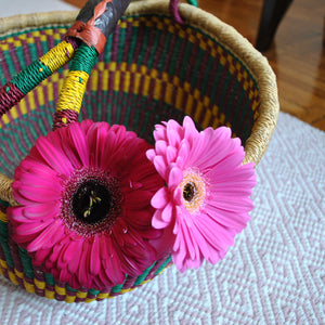 Perfect Décor Basket, Colorful, Homestyle