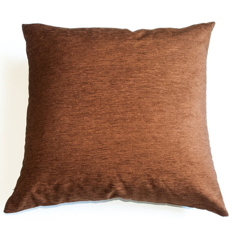 golden brown 22x22 accent pillow alternative down insert included