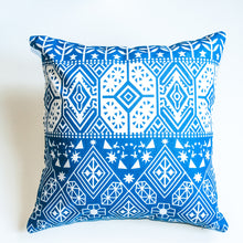 Load image into Gallery viewer, boho print accent pillow alternative down insert included