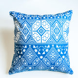 boho print accent pillow alternative down insert included