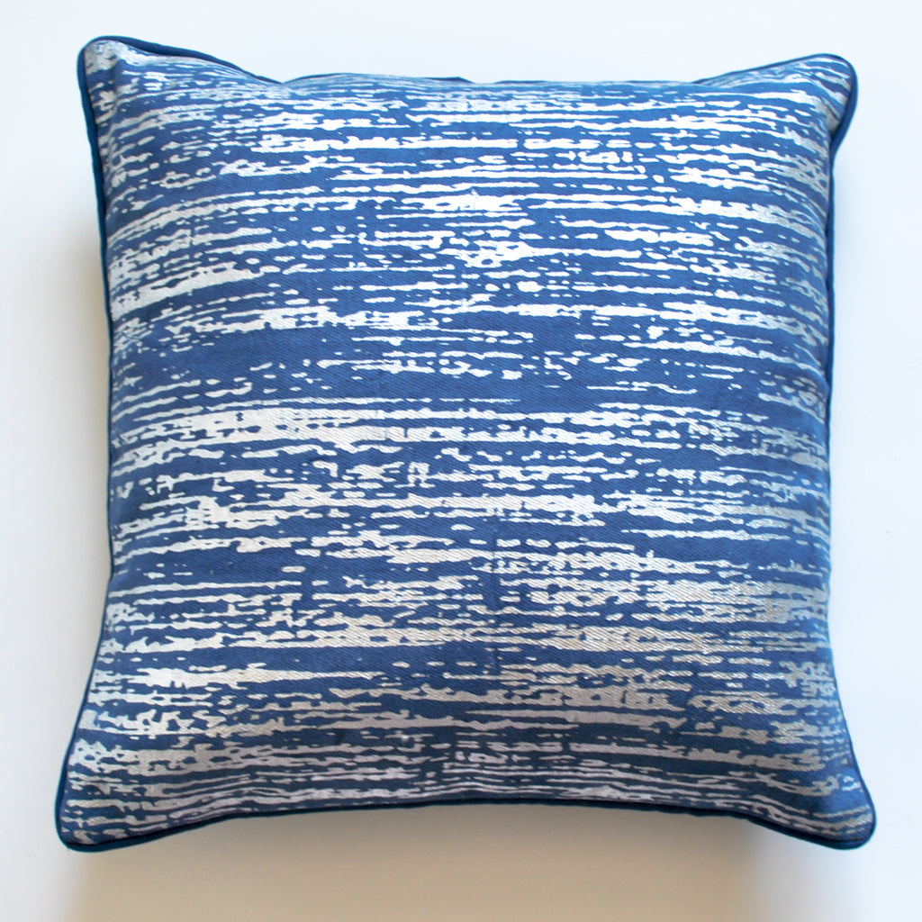 Royal Blue Decorative Pillow