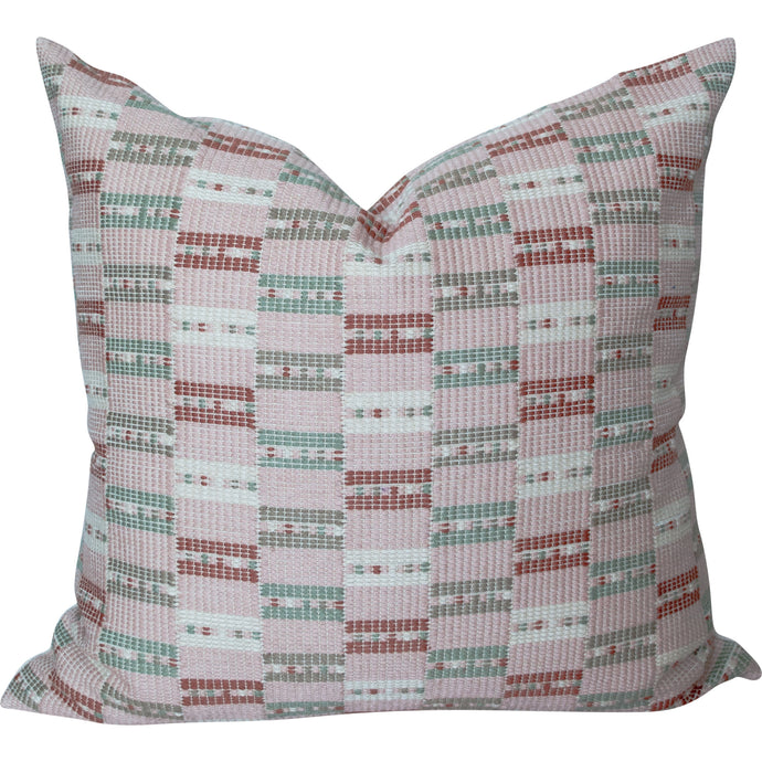 Set of Two Organic Colors Throw Pillow 18