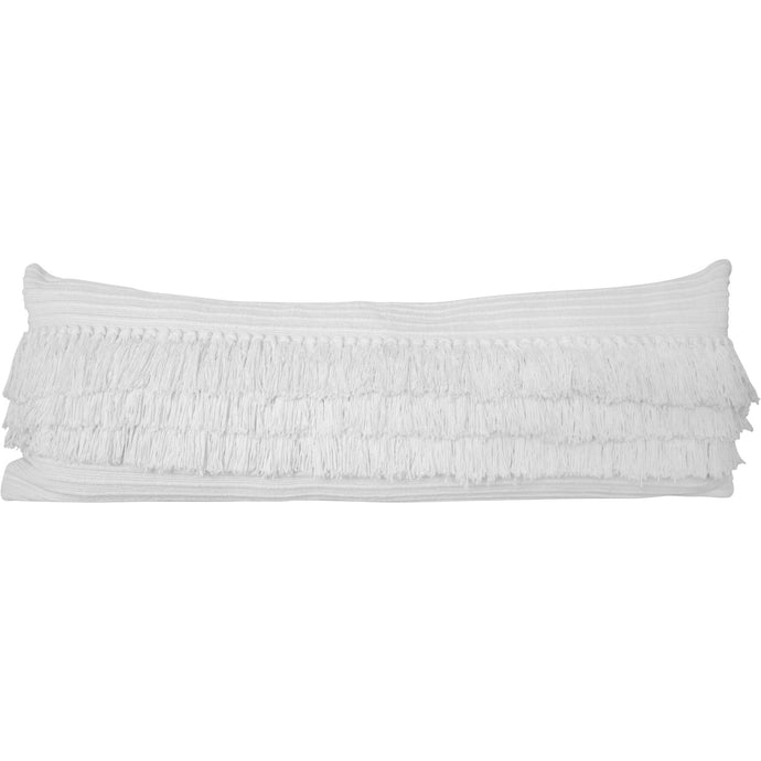 Grande Lumbar Natural Cotton Handwoven Pillow Cover