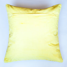 Load image into Gallery viewer, modern pattern yellow accent pillow alternative down insert included