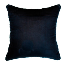 Load image into Gallery viewer, wool geometric black and white accent pillow alternative down insert included