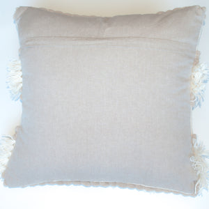 neutral beige accent pillow alternative down insert included