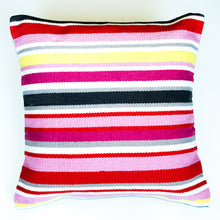 Load image into Gallery viewer, multi color bright accent pillow alternative down insert included