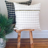 Plaid Check Accent Pillow N.2