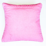 modern design bright pink accent pillow alternative down insert included