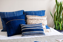 Load image into Gallery viewer, Indigo Blue Throw Pillow 20x20