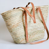 Moroccan Straw Bag