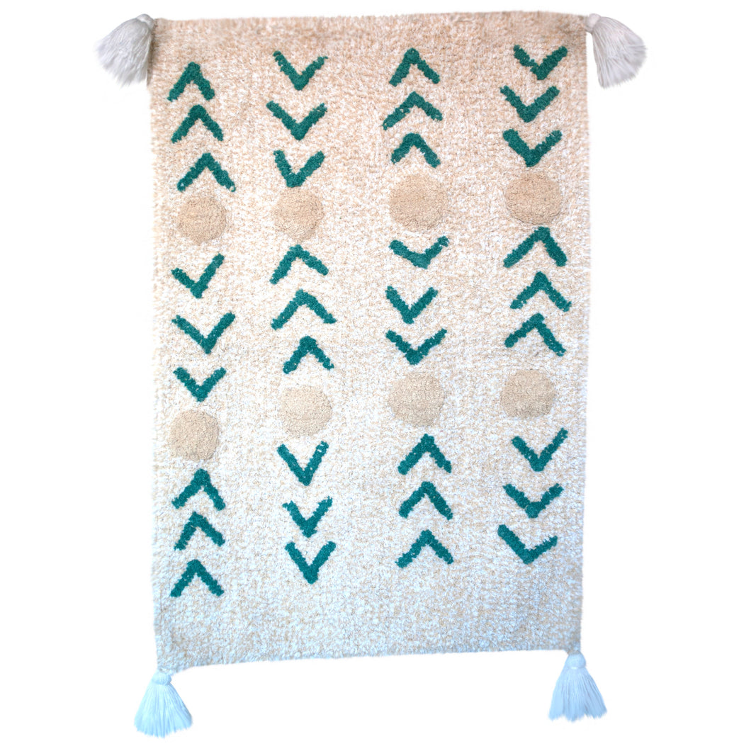 Paraiso Handwoven Washable Rug