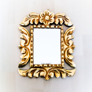 Square Accent Mirror Handcrafted in Peru