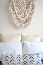 Load image into Gallery viewer, Large Natural Macramé Wall Hanging - Fiber Art