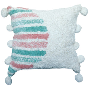 Rainbow Washable Decorative Pillow