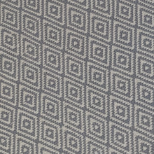 Load image into Gallery viewer, gray 5x8 accent rug with trellis pattern