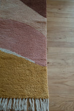 Load image into Gallery viewer, Pink Washable Rug Multicolor 100% Cotton