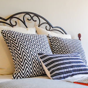 neutral fun pillows for home decoration