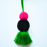 Pom Pom and Tassel Decorative Object